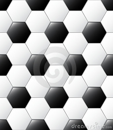 Free Soccer Ball Pattern Stock Photography - 21791742