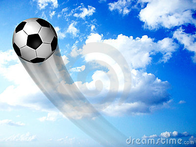 Soccer Ball In The Sky