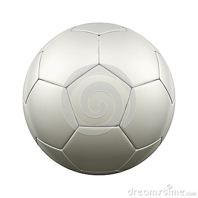 Free Soccer Ball White Stock Images - 29165004