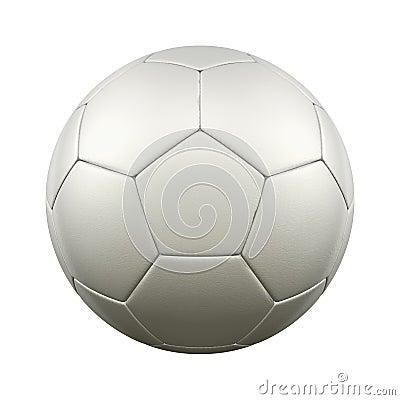 Free Soccer Ball White Stock Images - 29165004