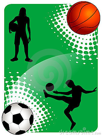 Soccer and basketball