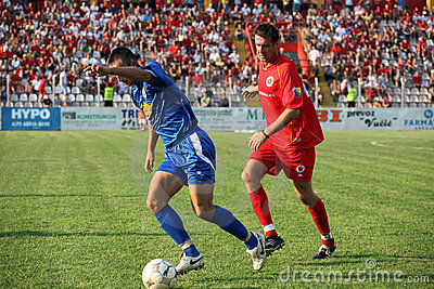 Soccer in Bosnia and Herzegovina Editorial Photo