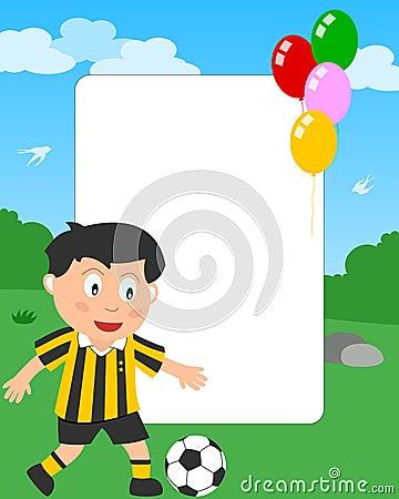 Soccer Boy Photo Frame