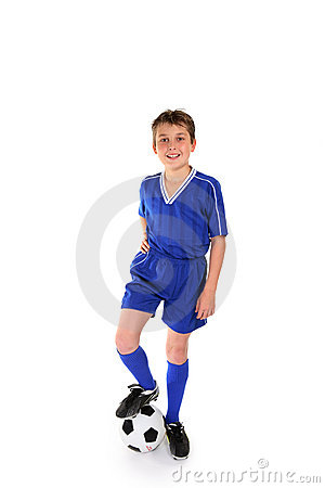 Free Soccer Champ Stock Photography - 3063512