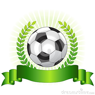 Soccer championship concept