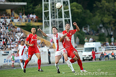 Soccer city derby HSK Zrinjski Mostar v FK Velez M Editorial Photography