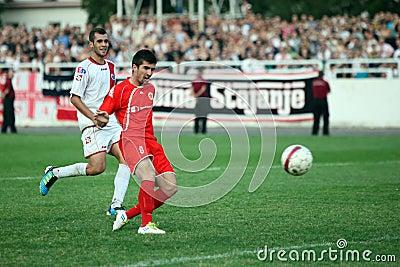 Soccer city derby HSK Zrinjski Mostar v FK Velez M Editorial Stock Image