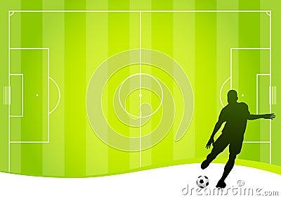 Soccer concept (vector)