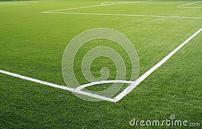 Soccer corner field lines