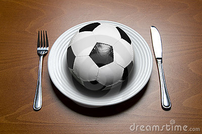 Soccer for dinner