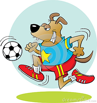 Soccer Dog Royalty Free Stock Images - Image: 25474459