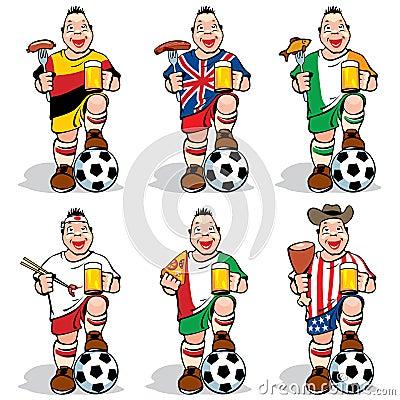 Free Soccer Fans At Sport-bar Royalty Free Stock Photos - 19001468