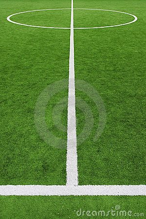Free Soccer Field, Center And Sideline Stock Photography - 3882472