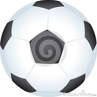 Soccer football ball illustration