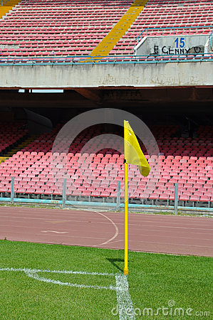 Soccer or Football corner kick