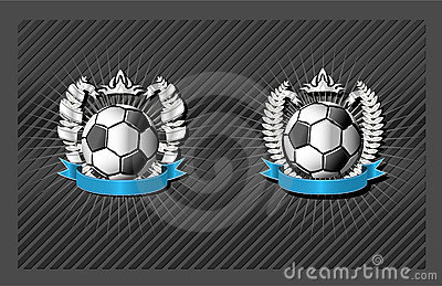 Soccer (football) emblem