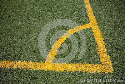 yellow line on football field cost