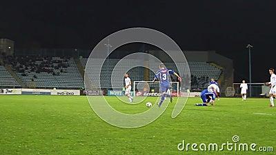 Soccer (football) macth stock footage