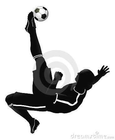 Free Soccer Football Player Illustration Royalty Free Stock Image - 20484746
