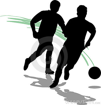 Free Soccer/Football Players/eps Royalty Free Stock Image - 834746