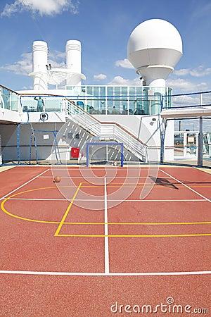 Soccer football sports court