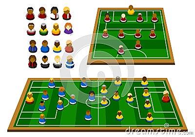 Soccer Formation Schema