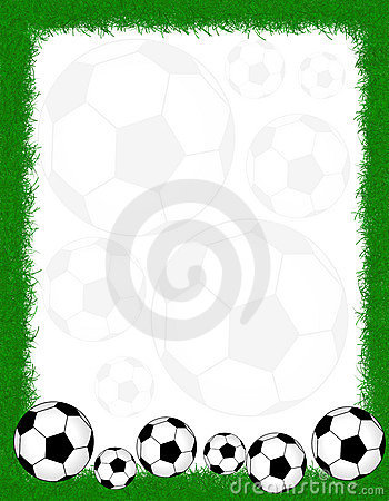 Free Soccer Frame / Border Stock Photos - 19549543