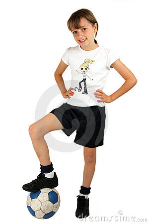 Free Soccer Girl Stock Photography - 3145662
