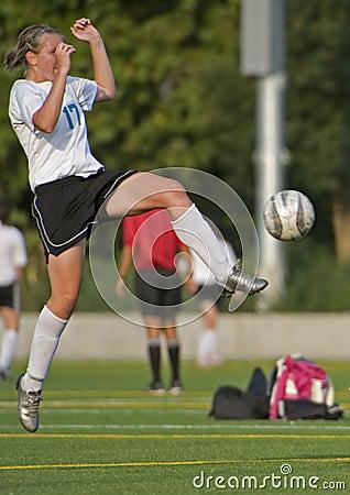 Soccer Girls varsity 5