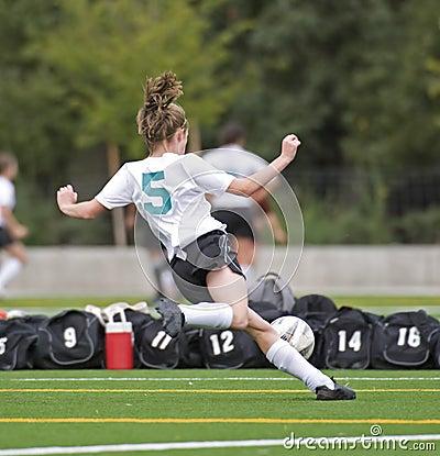 Soccer Girls varsity 5e