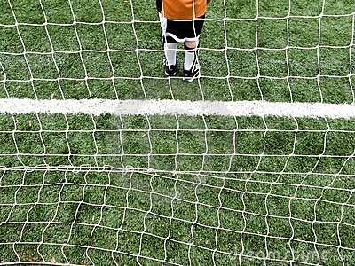 Soccer goalie boy