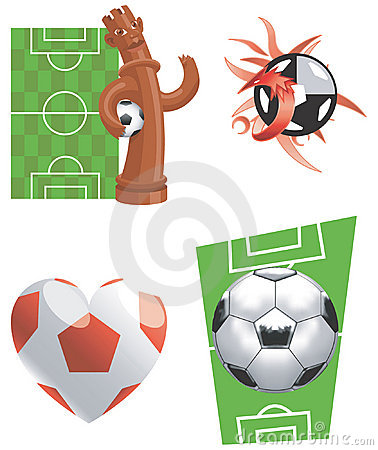 Soccer-Illustration-vector icons
