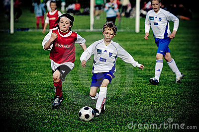 Soccer kids Editorial Photography