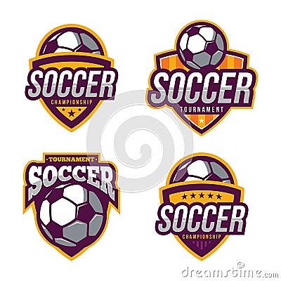 Free Soccer Logos, American Logo Sport Stock Images - 66222494