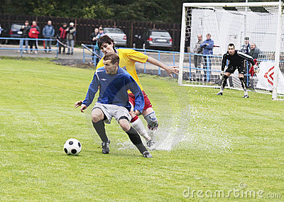 Soccer match Editorial Image