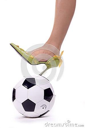 Free Soccer Mom Spike! Stock Photos - 276163