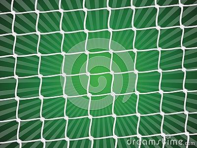 Stock Image: Soccer net background