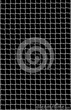 Soccer Net On Black Royalty Free Stock Image - Image: 25361976