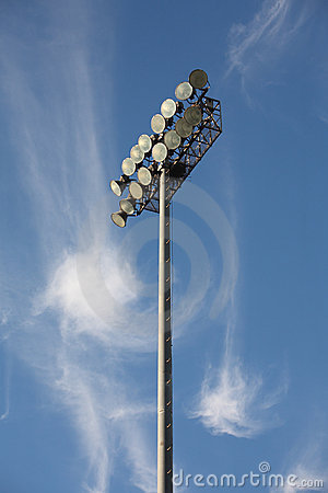 Free Soccer Or Baseball Floodlights Stock Image - 16712251