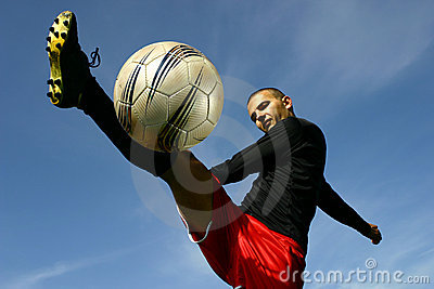 Soccer player #5