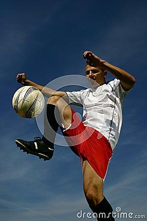 Soccer player #8
