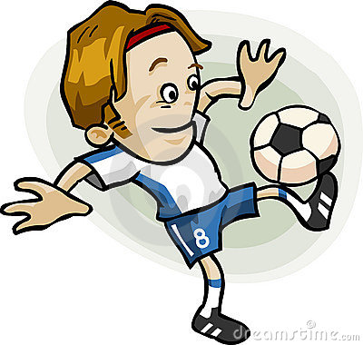 soccer player cartoon. SOCCER PLAYER CARTOON