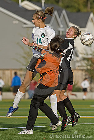 Soccer players action Editorial Photography