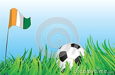 Soccer playground, ivory coast