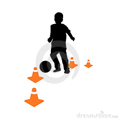 Free Soccer School For Kids Vector Stock Images - 9903224