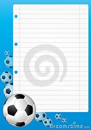 Soccer sheet