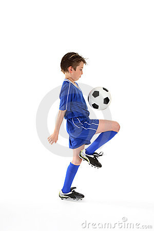 Free Soccer Skills Royalty Free Stock Image - 3074836