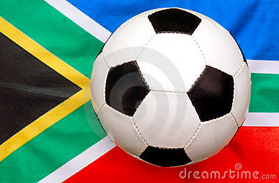 Soccer ball South Africa