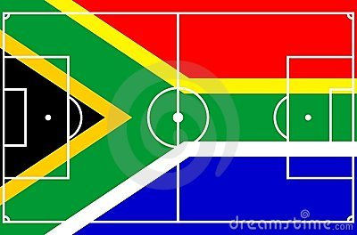 Soccer South Africa Royalty Free Stock Images - Image: 9393849