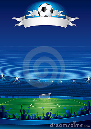 Free Soccer Stadium Royalty Free Stock Images - 14783529